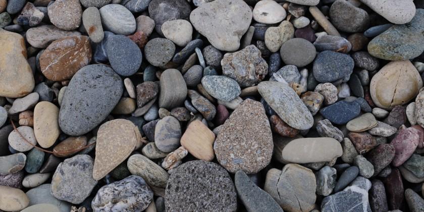 Landscaping wth gravel
